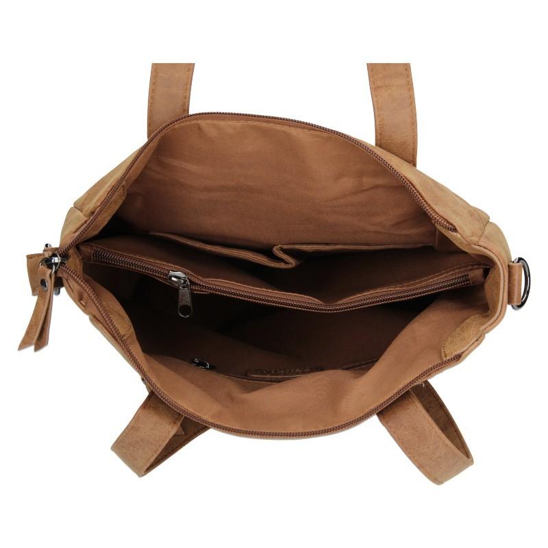 Dámska kabelka Enrico Benetti Lenia - hnedá