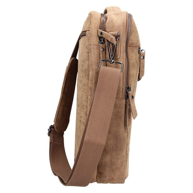 Trendy batoh / taška Enrico Benetti Nikk - hnedá