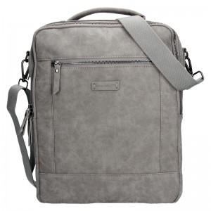 Trendy batoh / taška Enrico Benetti Nikk - šedá