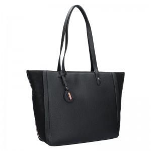 Dámska kabelka Hexagona Joanka - čierna