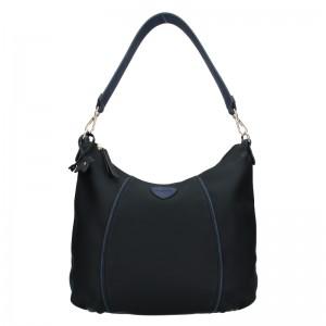Dámska kabelka Hexagona 505236 - modro-biela