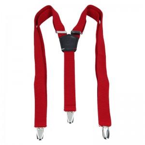 Pánske trendy traky (traky) Lerros Kasper - červená