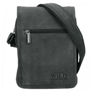 Pánska taška cez rameno Always Wild Loyd - šedá