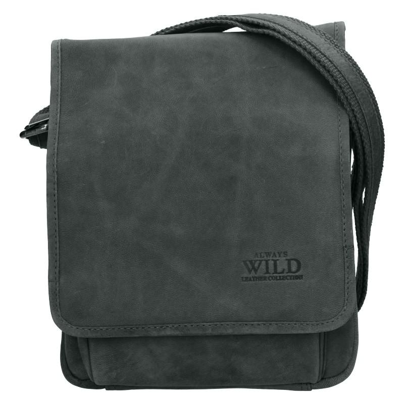 Pánská taška přes rameno Always Wild Fabios - čierna