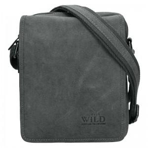 Pánska taška cez rameno Always Wild Jaren - Šedá