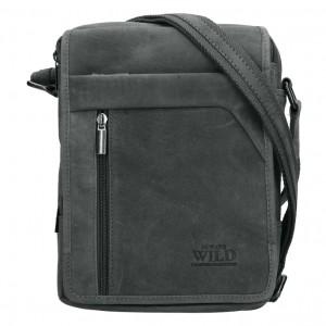 Pánská taška přes rameno Always Wild Norbel - čierna