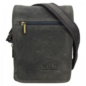 Pánska taška cez rameno Always Wild Vilden - šedá