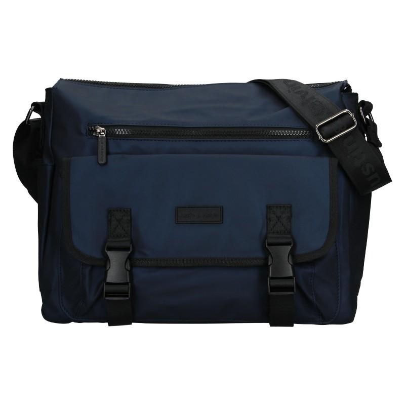 Pánska taška cez rameno Justin & Kelvin Jaakko - modrá