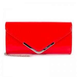 Dámska listová kabelka Tamaris Amaila - červený lesk