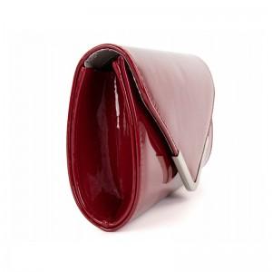 Dámska listová kabelka Tamaris Amaila - vínový lesk