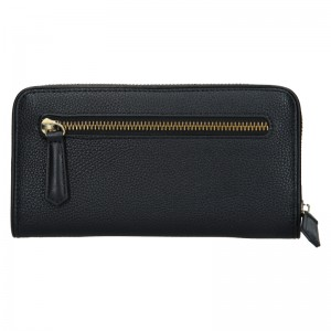 Dámska kožená peňaženka Bugatti Alexis - čierna
