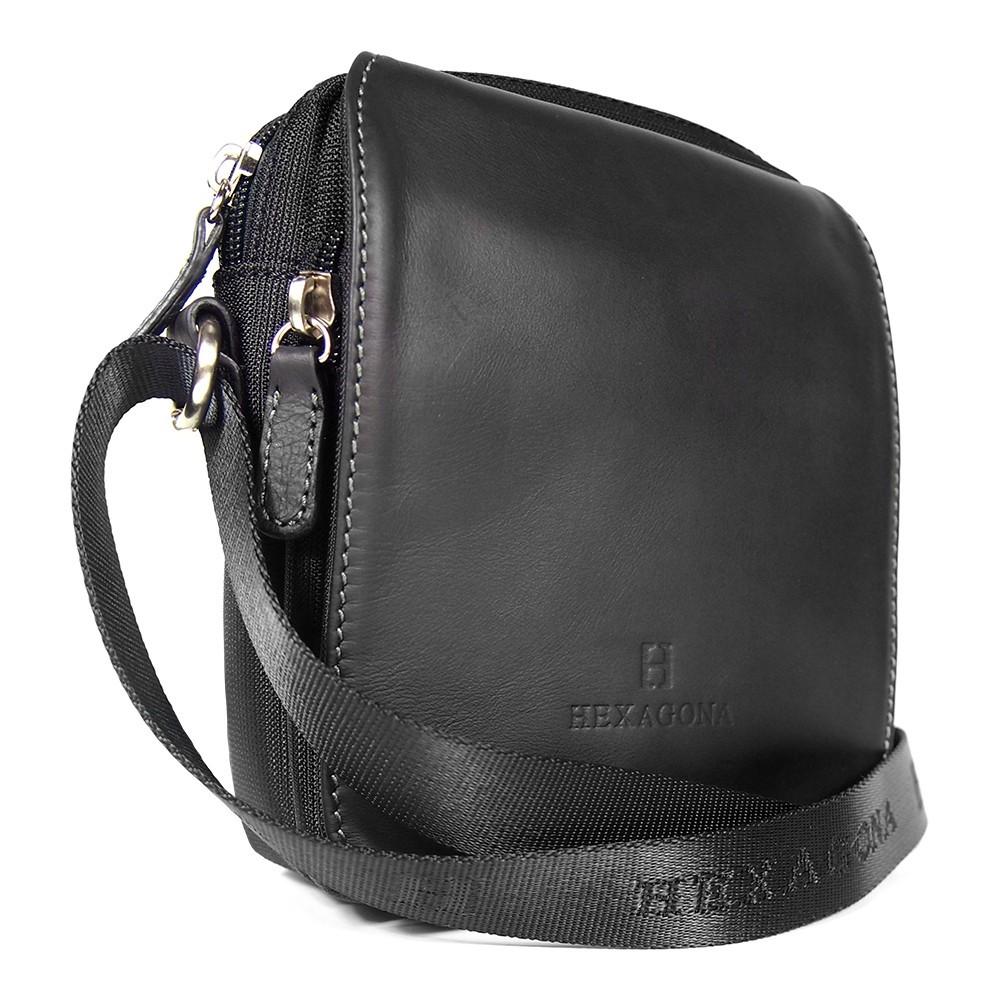 Pánska taška na doklady Hexagona 299176 - čierna
