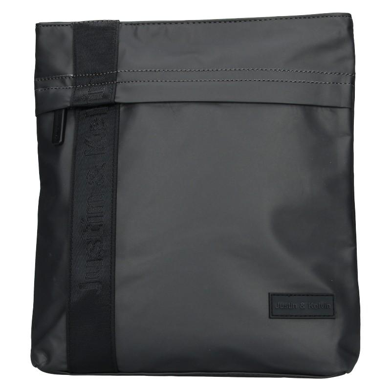 Pánska taška cez rameno Justin & Kelvin David - šedá