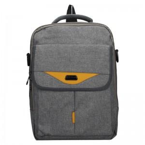 Pánsky batoh/taška Cover World London - šedá