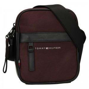 Pánska taška cez rameno Tommy Hilfiger Jack - bordó