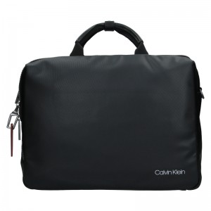 Pánska taška cez rameno Calvin Klein Oswald - čierna
