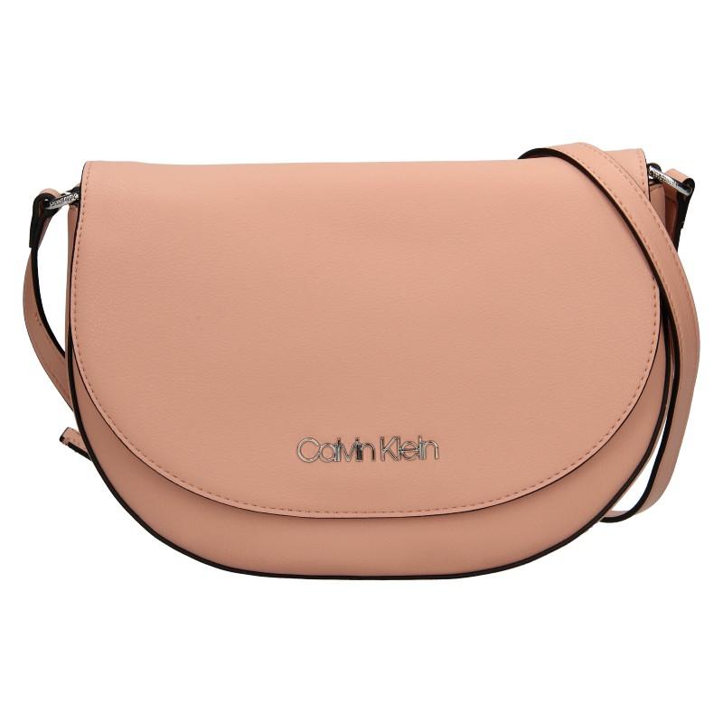 Dámska crossbody kabelka Calvin Klein Stacy - ružová