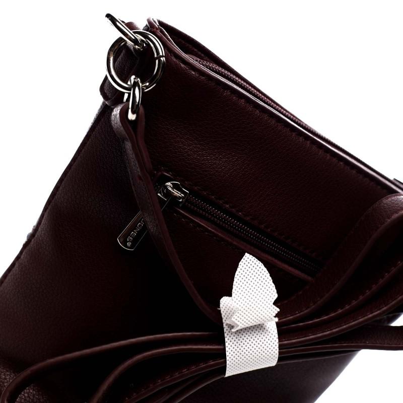 Dámska crossbody kabelka David Jones Belinda - vínová
