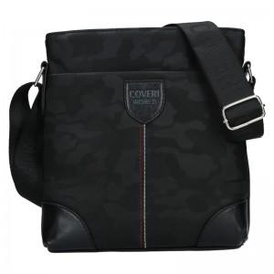Pánska taška cez rameno Cover World Perry - čierna