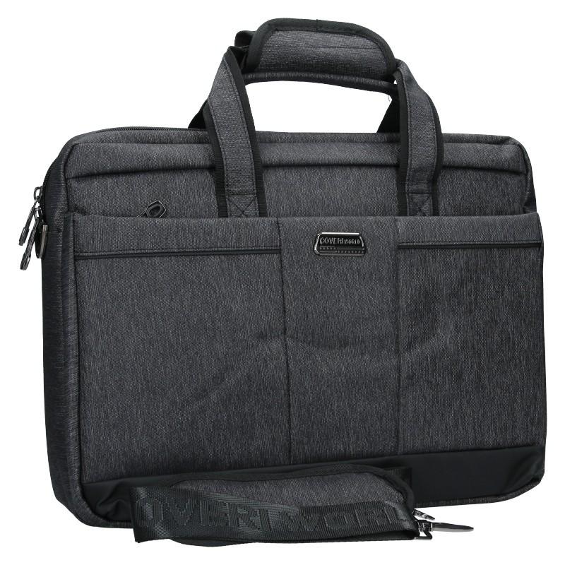 Pánska taška cez rameno Coveri World Oktavius - šedá