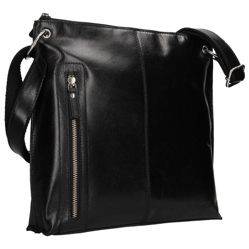 Dámska crosbody kabelka Lagen Ambra - čierna