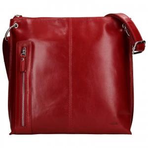 Dámska crosbody kabelka Lagen Ambra - červená