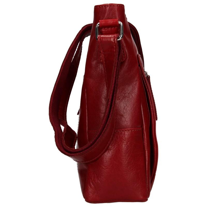 Dámska crosbody kabelka Lagen Esmé - červená