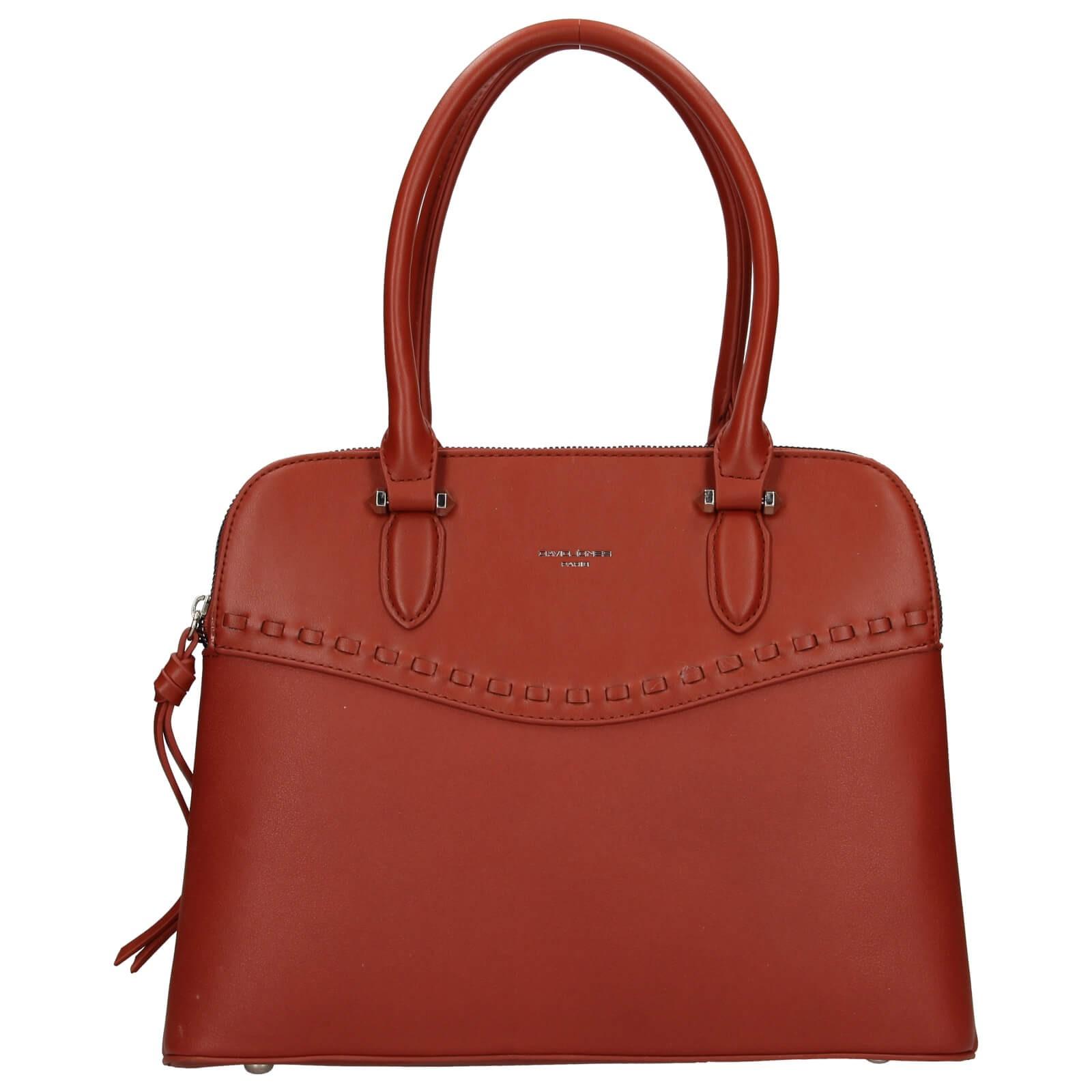Dámska kabelka David Jones Aileen - oranžovo-hnedá