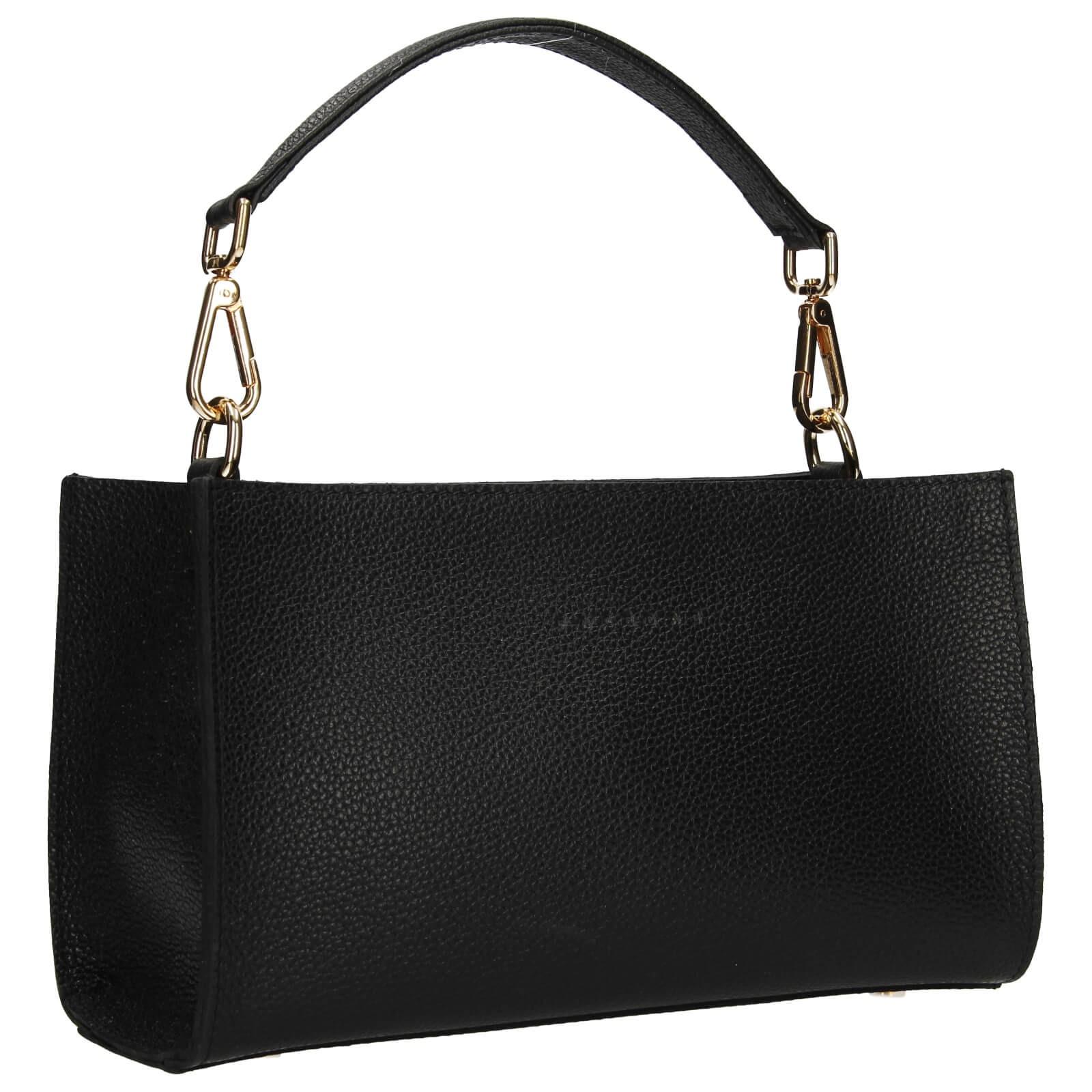 Dámska kožená kabelka Facebag Bety - čierna