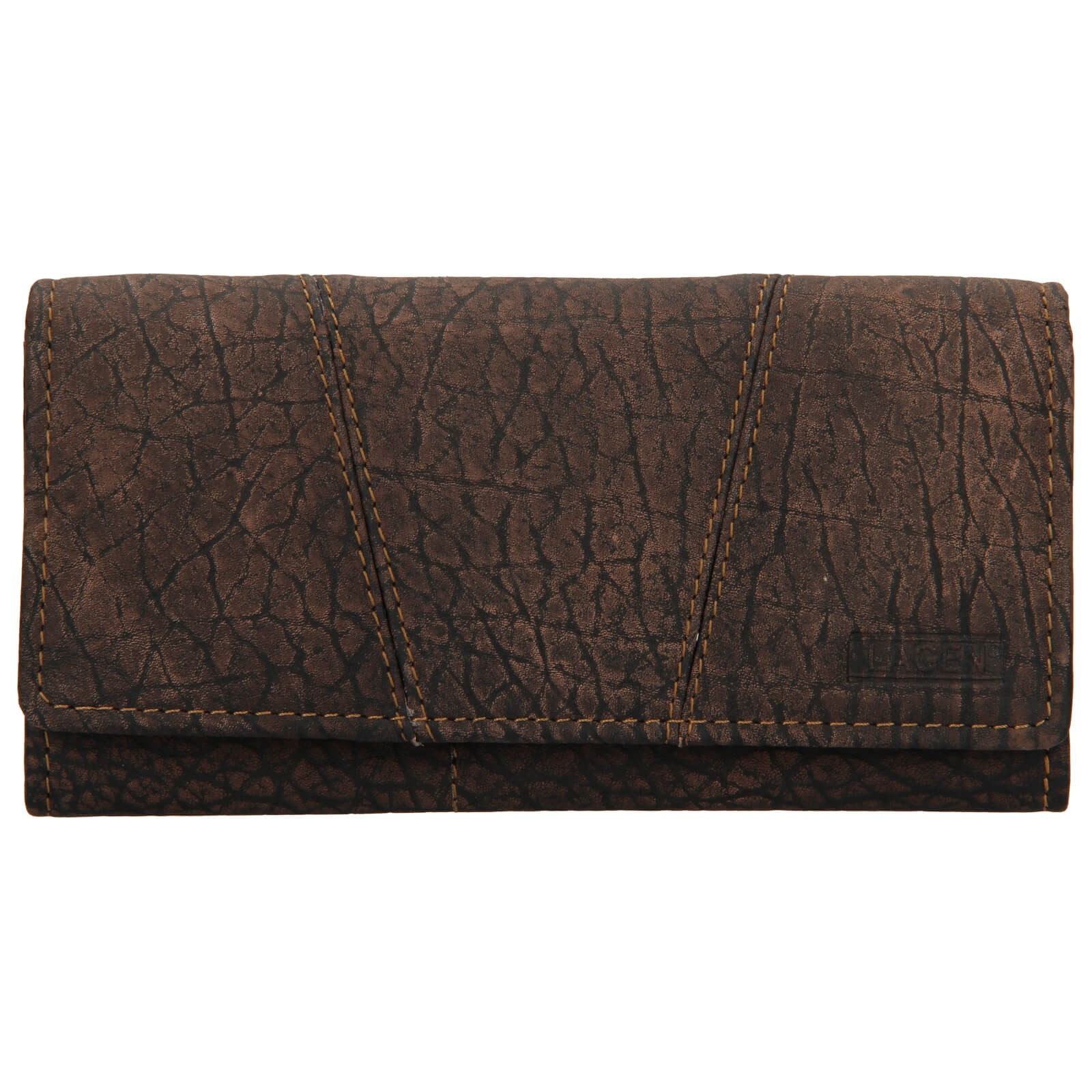 Dámska kožená peňaženka Lagen Britta - hnedá