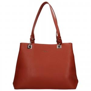 Dámska kabelka David Jones Daisy - oranžovo-hnedá