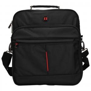 Pánska taška cez rameno Enrico Benetti Jerod - čierna