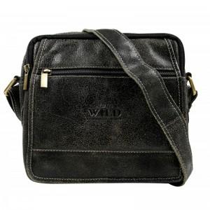 Pánska taška cez rameno Always Wild Didie - čierna