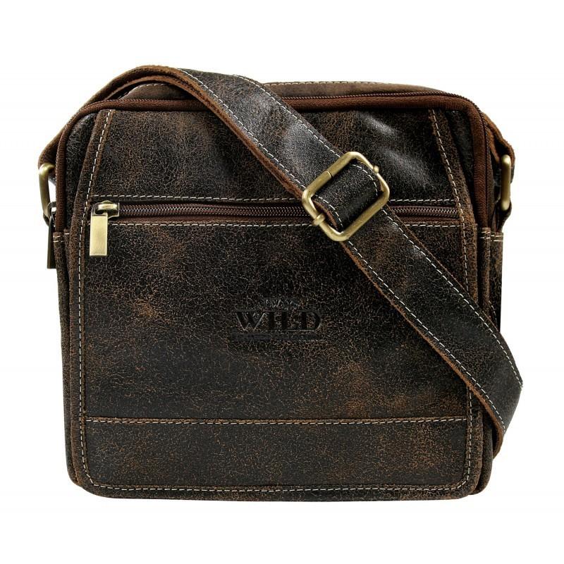 Pánska taška cez rameno Always Wild Didie - hnedá
