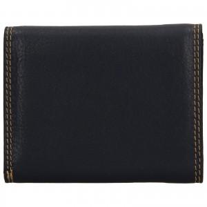 Dámska kožená peňaženka DD Anekta Renna - čierna