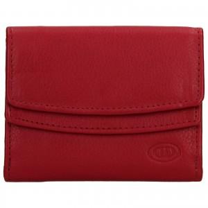 Dámska kožená peňaženka DD Anekta Renna - červená