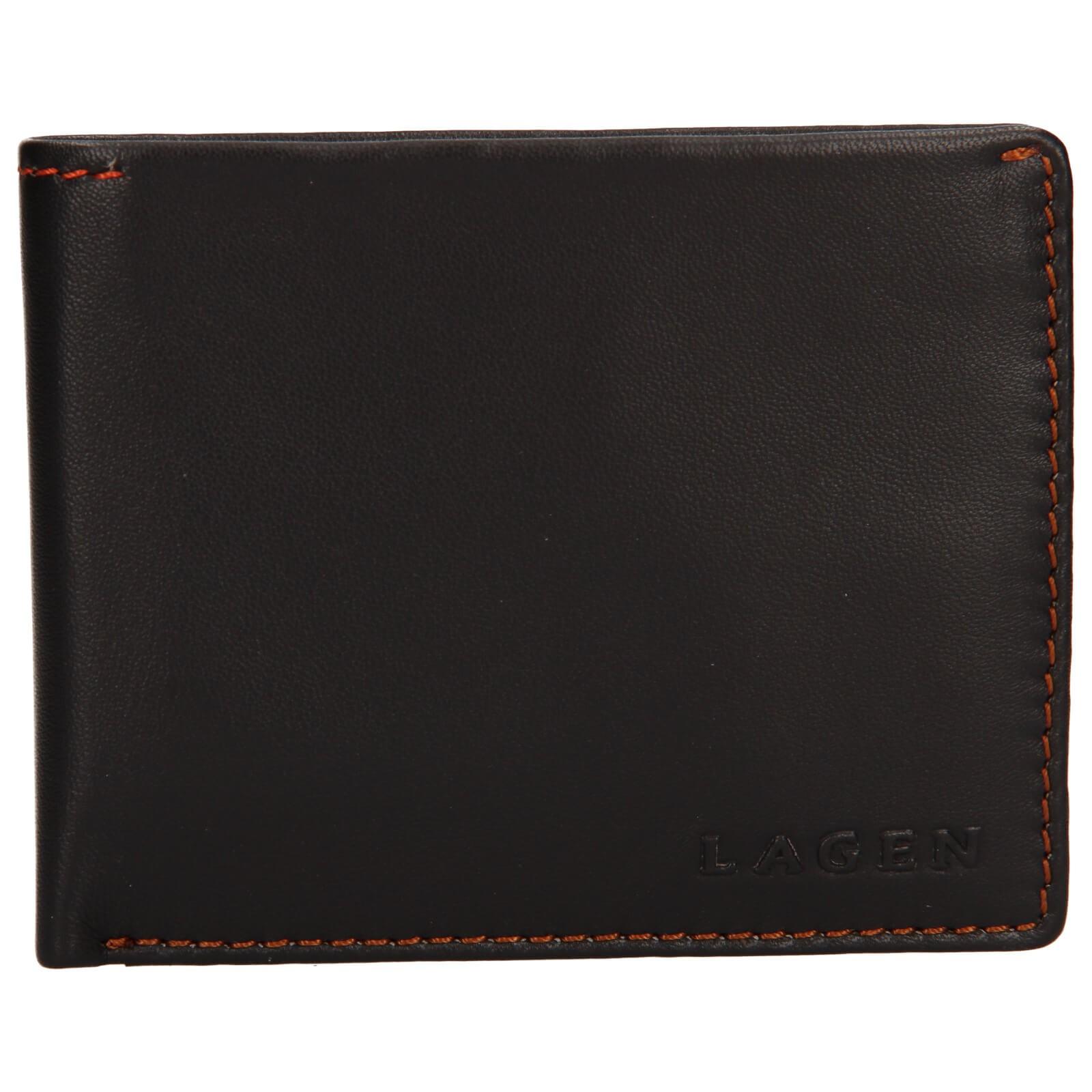 Pánska kožená peňaženka Lagen Luket - hnedá