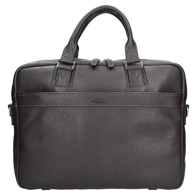 Pánska kožená taška cez rameno Katana Alfons - hnedá