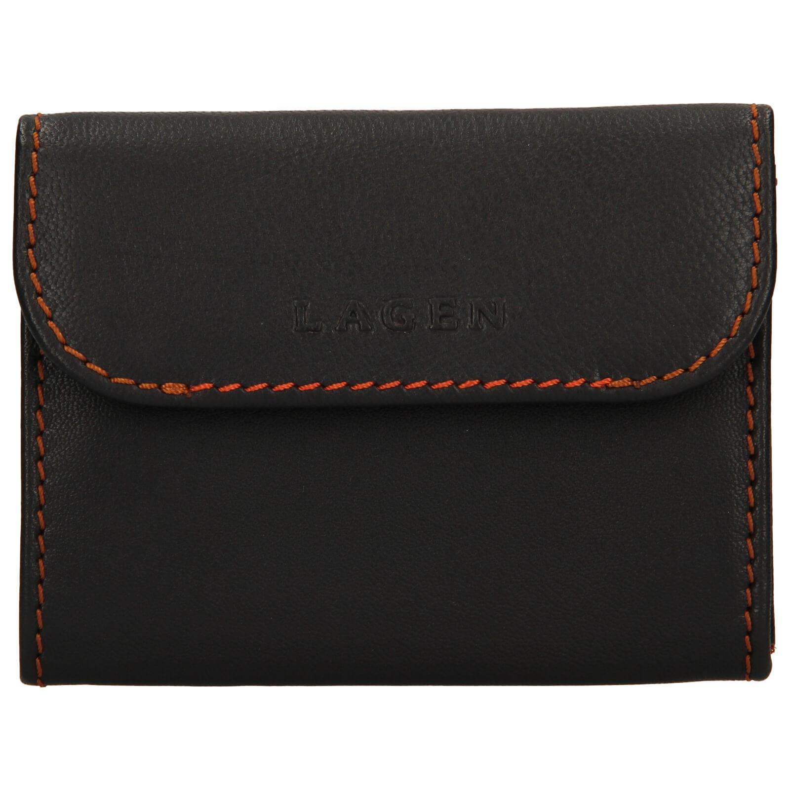 Pánska kožená peňaženka Lagen Robin - hnedá