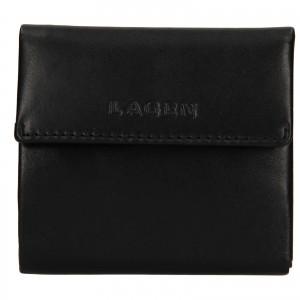 Dámska kožená peňaženka Lagen Aneta - čierna