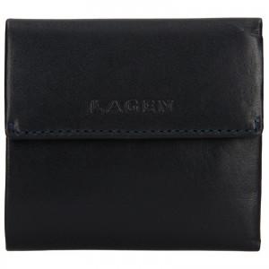 Dámska kožená peňaženka Lagen Aneta - modrá