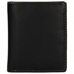 Pánska kožená peňaženka Lagen Patrik - čierna