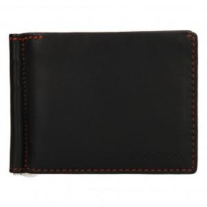 Pánska kožená peňaženka Lagen Libor - tmavo hnedá