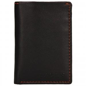 Pánska kožená peňaženka Lagen Radovan - hnedá
