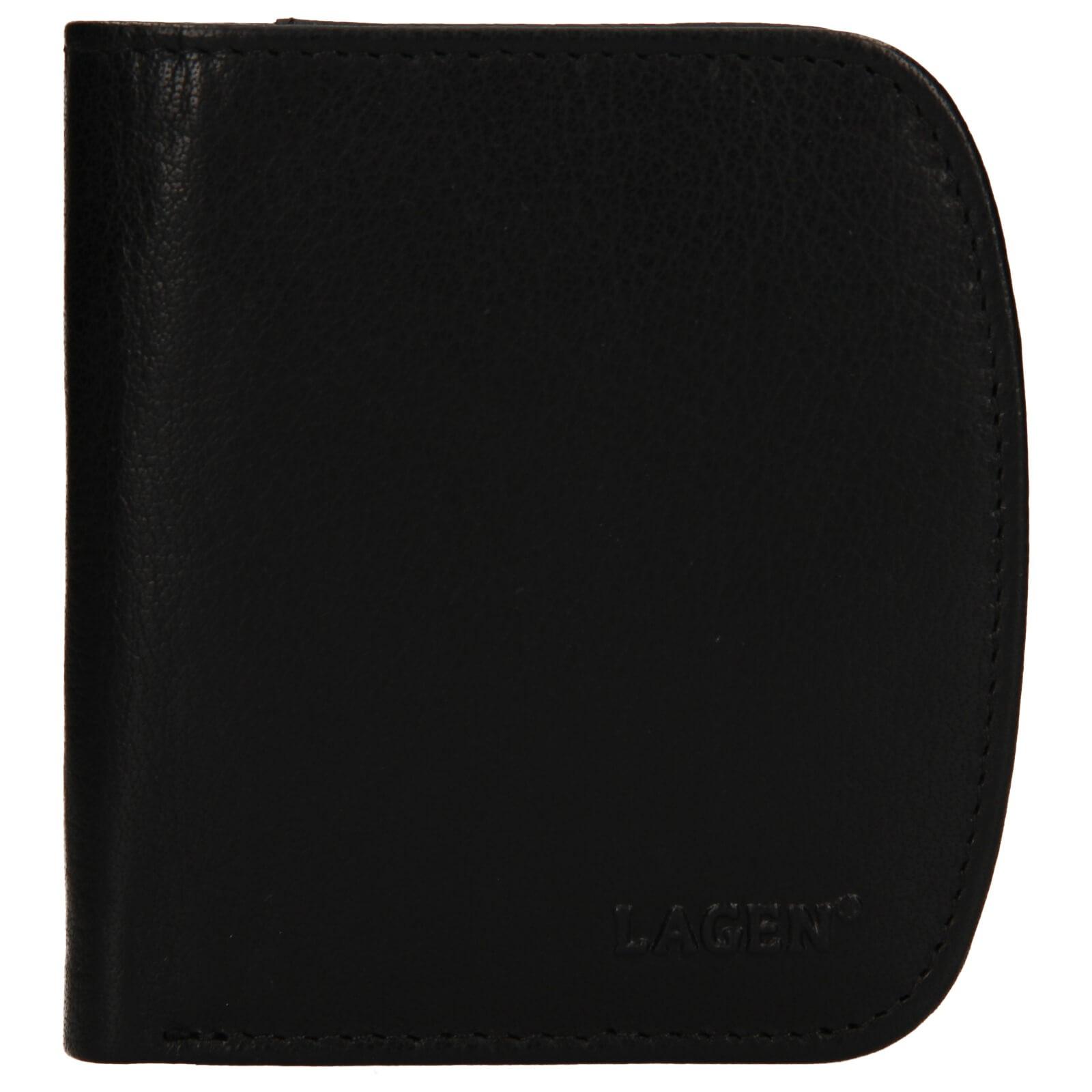 Pánska kožená peňaženka Lagen Denis - čierna