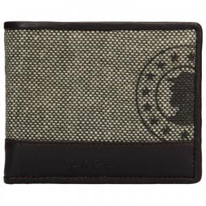 Pánska kožená peňaženka Lagen Mann - hnedá