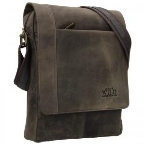 Pánska taška cez rameno Always Wild Artair - čierna