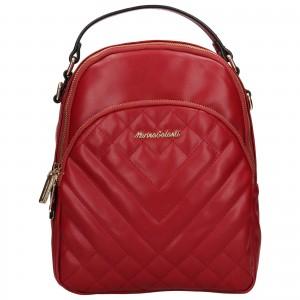Dámsky batoh Marina Galant Berit - červená