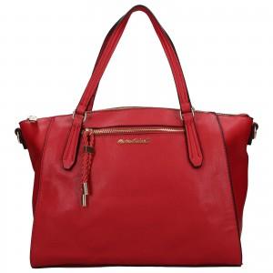 Dámska kabelka Marina Galant Juta - červená