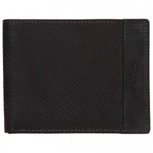 Pánska kožená peňaženka Always Wild Simmon - čierna